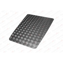 Mammouth 3mm Premium bonnet protection plate for Defender 1983-2007 (black powder coated)