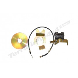 Defender disc brake hand brake conversion kit