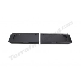 Defender front parcel shelf