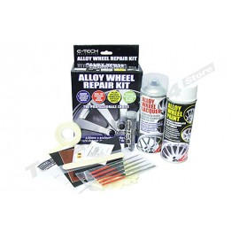 Alloy Wheel Repair Kit Competition White