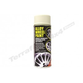Alloy Wheel Paint 400ml Can Competition White